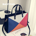 2016 new women Messenger bag casual  ladies party purse fashion patchwork hit color sweet ladies shoulder bag