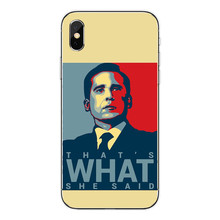 The Office TV Series Printed Phone Case for iPhone – FREE Shipping