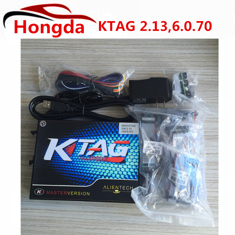 Prix pour Ktag k-tag Programmation de L'ecu Outil Maître Ktag K Tag V2.13 Ecu Chip Tournage Aucun Jeton Limitée Fw V6.070
