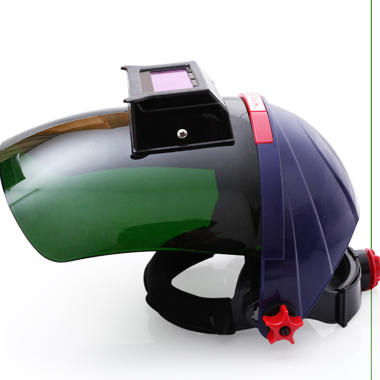 a0b1d2dc18c12 Automático de Mudança de Luz PC Máscara de Solda de arco de argônio Soldador  Capacete Variável Óptico Óculos insipidez Avirulent de Energia Solar em ...