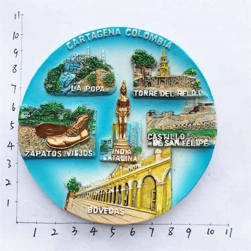 Cartagena, Colombia Fridge Magnet Tourist Souvenir Craft GIFT IDEA
