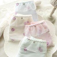 Japoński bielizny czystej bawełny koronki słodkie duże stocznie bragas majtki bielizna calcinha tanga majtki stringi ciąg culotte femme