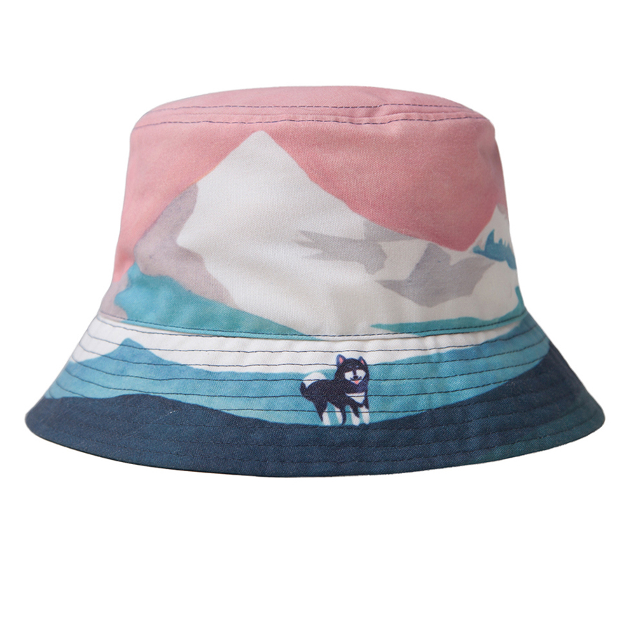 YIZISToRe Original Casual Bucket Hats For Girls And Boys In VIEW Series(FUN KIK)