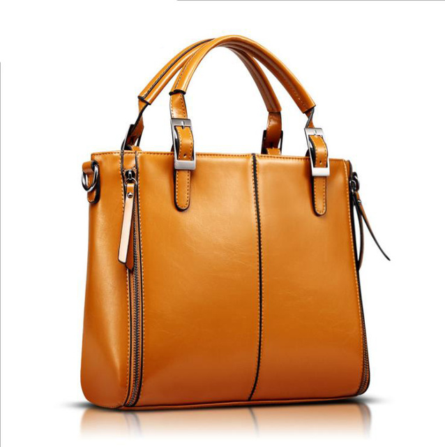 British satchel Vintage women handbag fashion and contracted style high quality PU leather female shoulder bag bolsas feminina