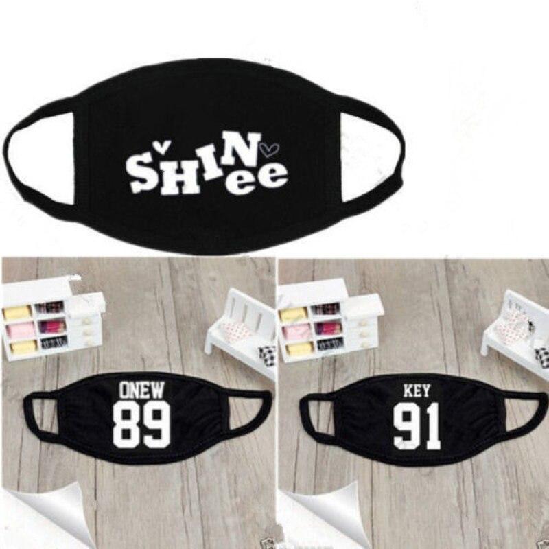 Mainlead SHINee Mouth Mask Muffle K-POP JongHyun KEY Minho Onew Taemin KPOP Face Mask