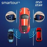 Car truck BSD BSM Blind Spot Radar Detection System microwave sensor change lane driving assistance mirror alarm