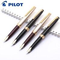 L Pilot Elite 95s 14k золотая ручка EF/F/M перьевая ручка  ограниченная версия  перьевая ручка цвета шампанского золото/черный  идеальный подарок