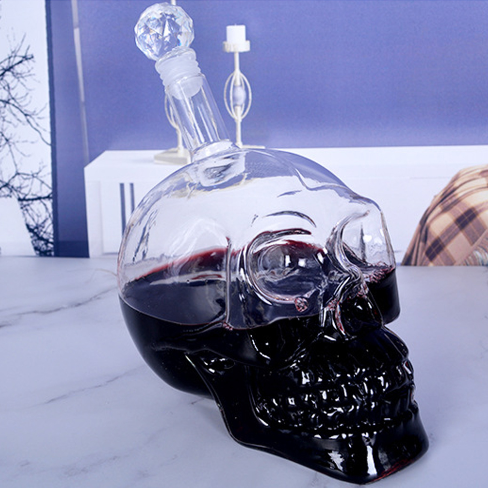 Cool Crystal Skull Head Vodka Shot Wine Glass Idea For Drinking Ware Home Bar 2 In A Pack Glassware Shot Glasses