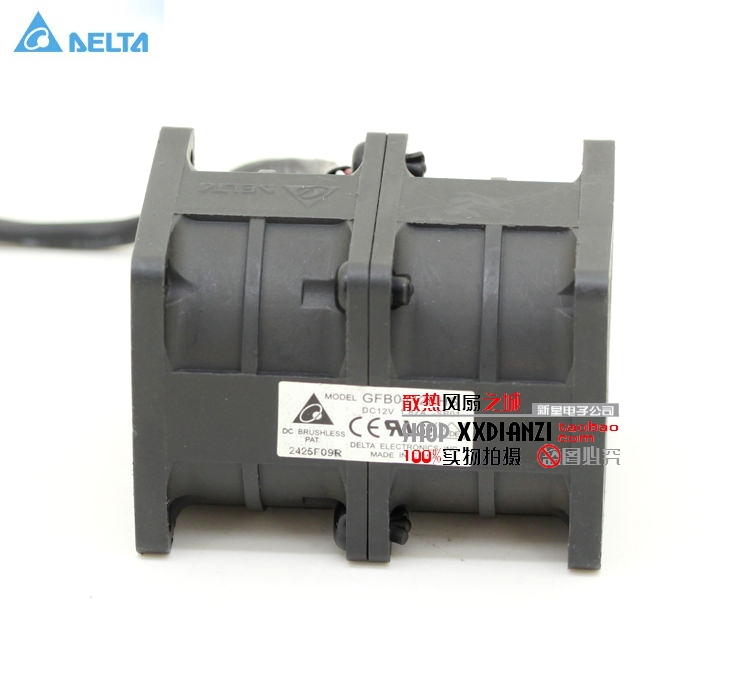 Delta GFB0412EHS motorcycle engine super car radiator cooling fan violence 4056 40*40*56mm booster fan 12V 1.82A delta 12038 fhb1248dhe 12cm 120mm dc 48v 1 54a inverter fan violence strong wind cooling fan