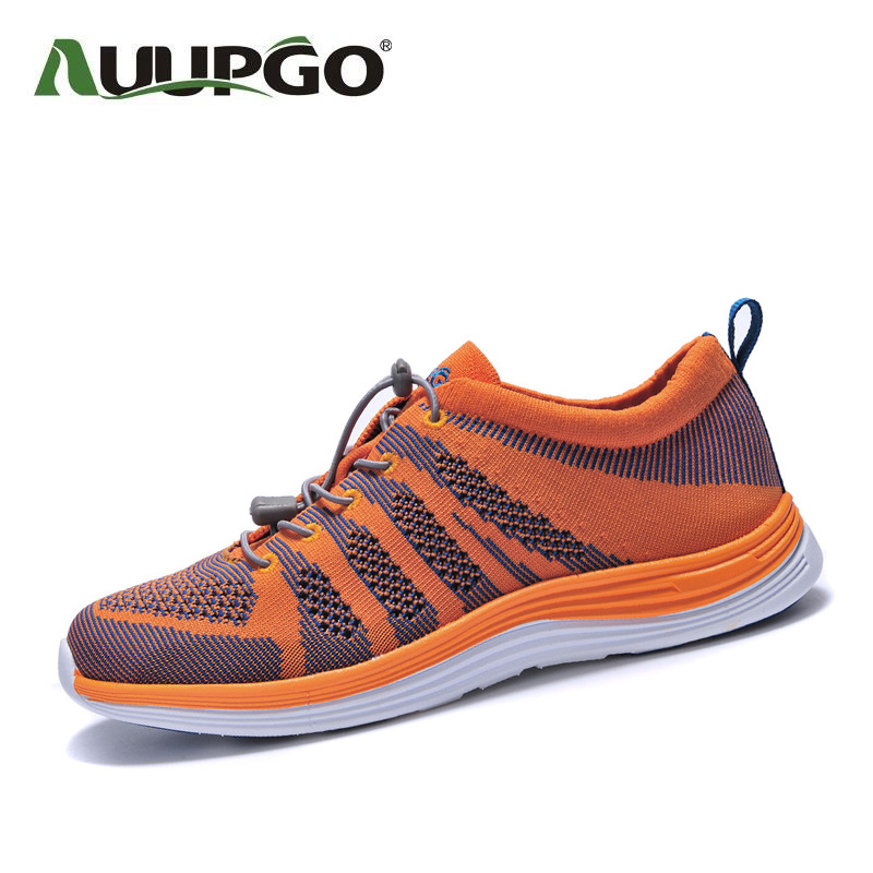 Men Outdoor Sneakers Breathable Hiking Shoes Men Women Outdoor Hiking Trekking Trail Water Sports Sneakers B2595 mulinsen winter2017 ankle boots hiking shoes for men hunting trekking men s sneakers breathable outdoor athletic sports brand