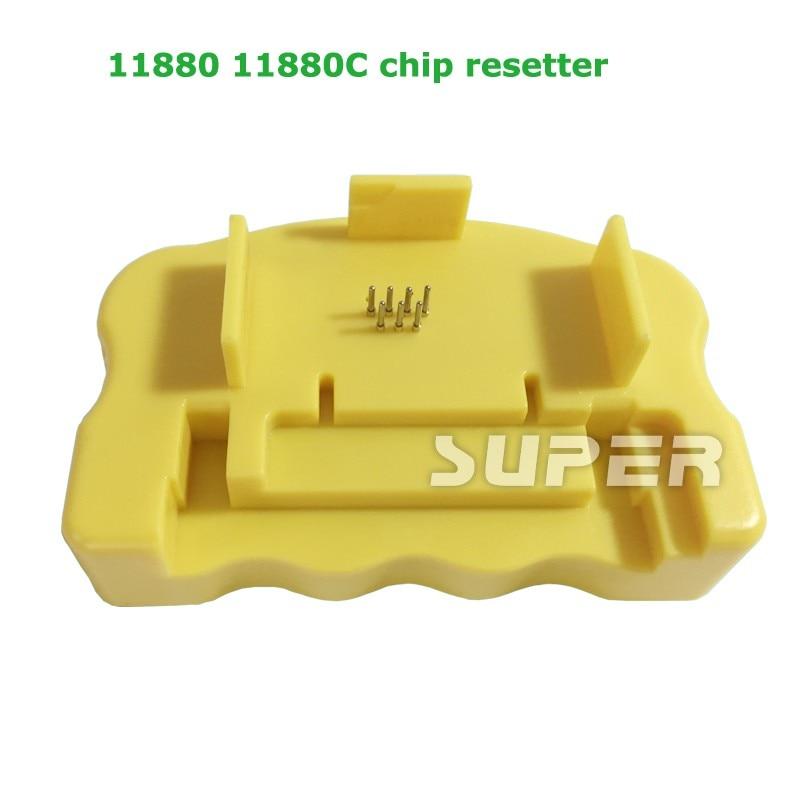 Chip Resetter For Epson 11880 11880C Printer T5911-T5919 T5921-T5929 resetter maintance tank chip resetter for epson 7900 9900 7700 9700 printer