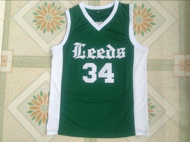 f3981ef30a81  34 CHARLES BARKLEY LEEDS HIGH SCHOOL Basketball Jersey Embroidery Stitched  Custom any Number and name Jerseys