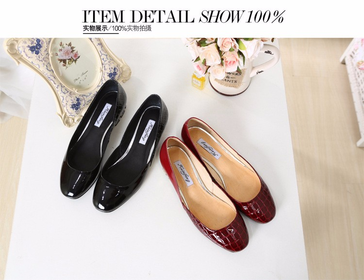 Flats Patent Leather Shoes 2016 New Arrival Casual Women Flat Shoes Summer D\'orsay Flats Plus Size 34-43 Ladies Shoes PX79 (26)