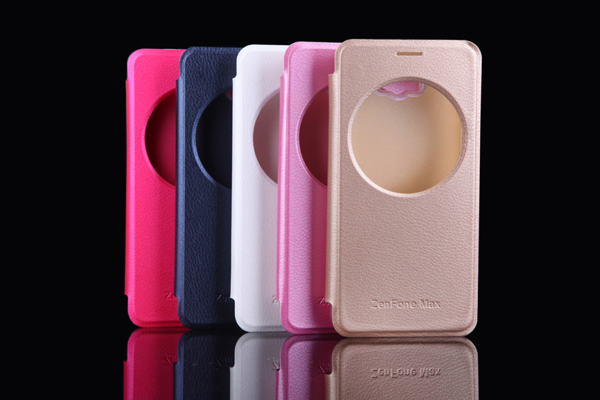 Ultra Slim Fashion Quick Smart Circle View Case Auto Sleep Flip Cover - Accesorios y repuestos para celulares - foto 6