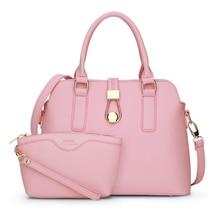 fashion composite bags women handbag famous brand design shoulder messenger bag hasp zipper clutch solid zipper casual tote m720