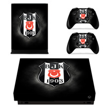 Turkey Football Besiktas BJK Skin Sticker For Xbox One X