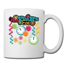 Happy New Year coffee mug novelty dad tazas ceramic tumbler 921d4ef051c6