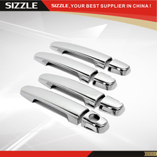 ABS Plastic Chrome Door Handle Cover Accessories Para For TOYOTA Yaris 2001-2011