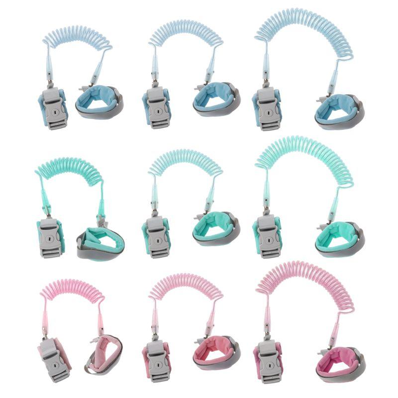 Anti Lost Wrist Link Add Key Lock Toddler Leash Baby Walker Safety Belt Wristband Walking Strap Rope Adjustable 1.5/2/2.5M