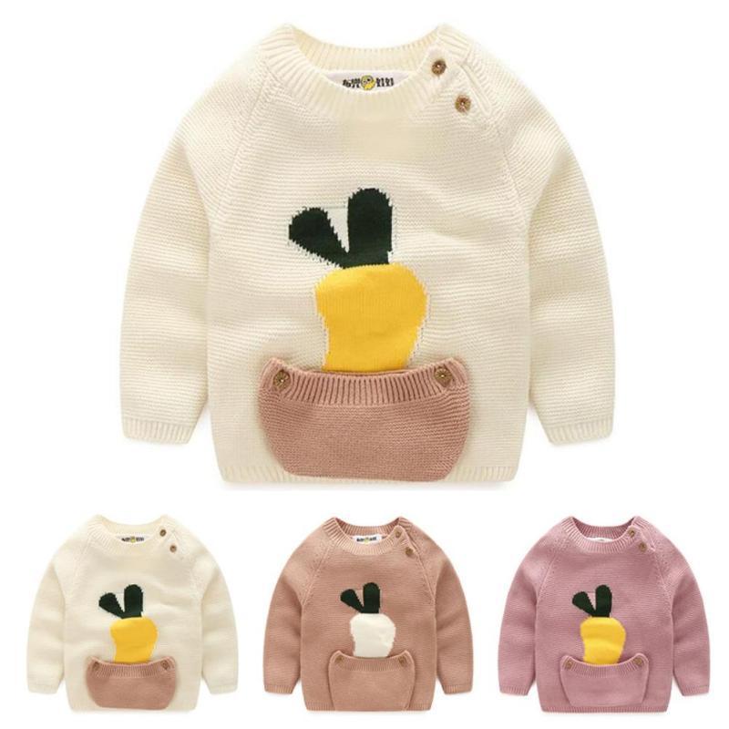 79b637df2a3c trendy creative Spring Girl Boys Sweater Baby Girls Boy sweater Kids ...