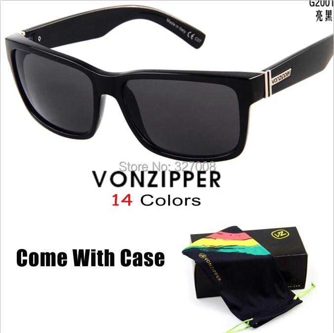 fb54f7a08 Von Zipper Sunglasses 2014 Fashion Sporting Brand Vonzipper Glasses Men  Bycicle Goggles Lenses Ciclismo Gafas With Box