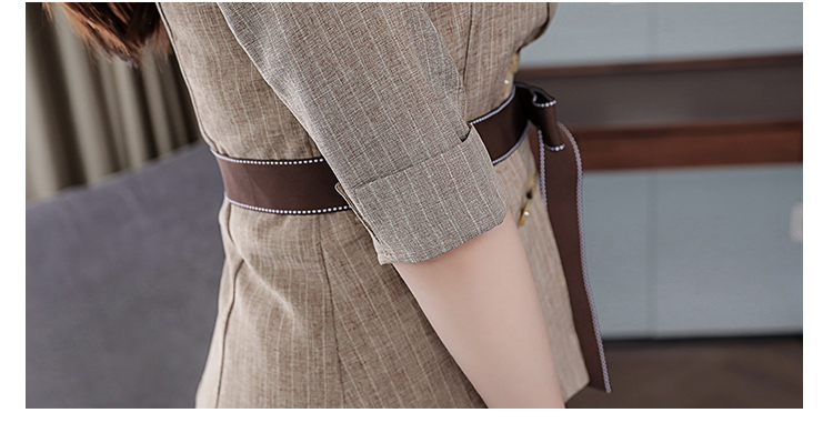 2019 Two Piece Sets Outfits Women Office Suit With Belt And Pleated Skirt Suits Vintage Korean Ladies 2 Piece Sets Femme 47