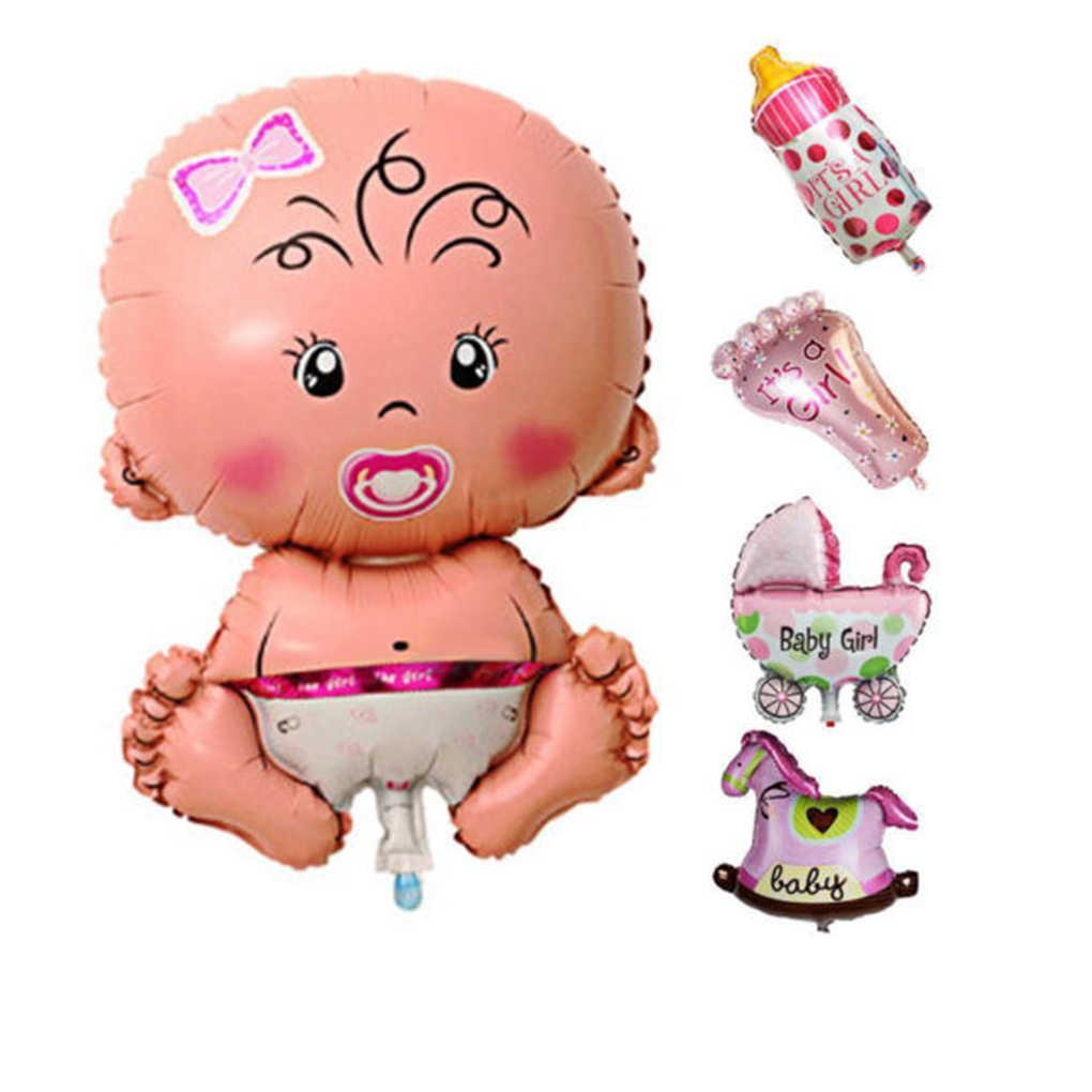 2019 новый 5 шт./компл. Детские мультфильм душ шары надувные украшение из фольги для мальчиков и девочек день рождения игрушки