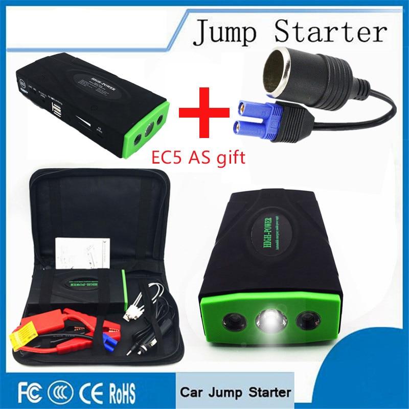 Neue High Power Tragbare Auto Starthilfe Multi-Funktion Auto Notfall Power Bank Ladegerät Booster für Auto Batterie Ausgangs gerät