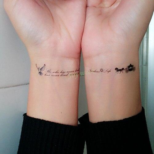 Us 049 Wodoodporna Tymczasowa Naklejka Tatuaż Sexy Ryby Fly Ptak Z Angielskimi Literami Słowo Tatuaż Flash Tatuaż Fałszywe Tatuaże Dla Dziewczyn W