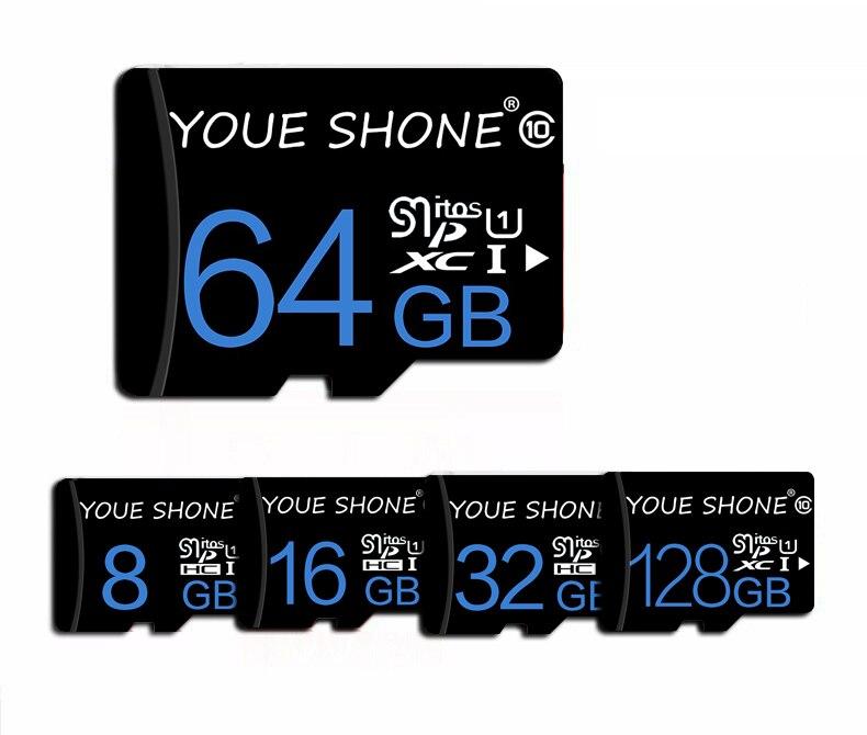 100% карта памяти кредитка карты 8 ГБ 16 ГБ 32 ГБ 64 Гб 128 ГБ Микро-флеш-накопитель SD карта microSDHC micro SD UHS-I tf карта для смартфона