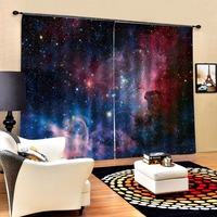 European 3D Curtains angel design Curtains For Living Room Bedroom Blackout curtain
