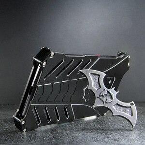 Image 4 - For HUAWEI Mate 30 Pro Case Batman Armor Aluminum Metal For P40 P30 P20 20 Pro 20X 5G lite nova 6 7 se Case Shockproof Coque