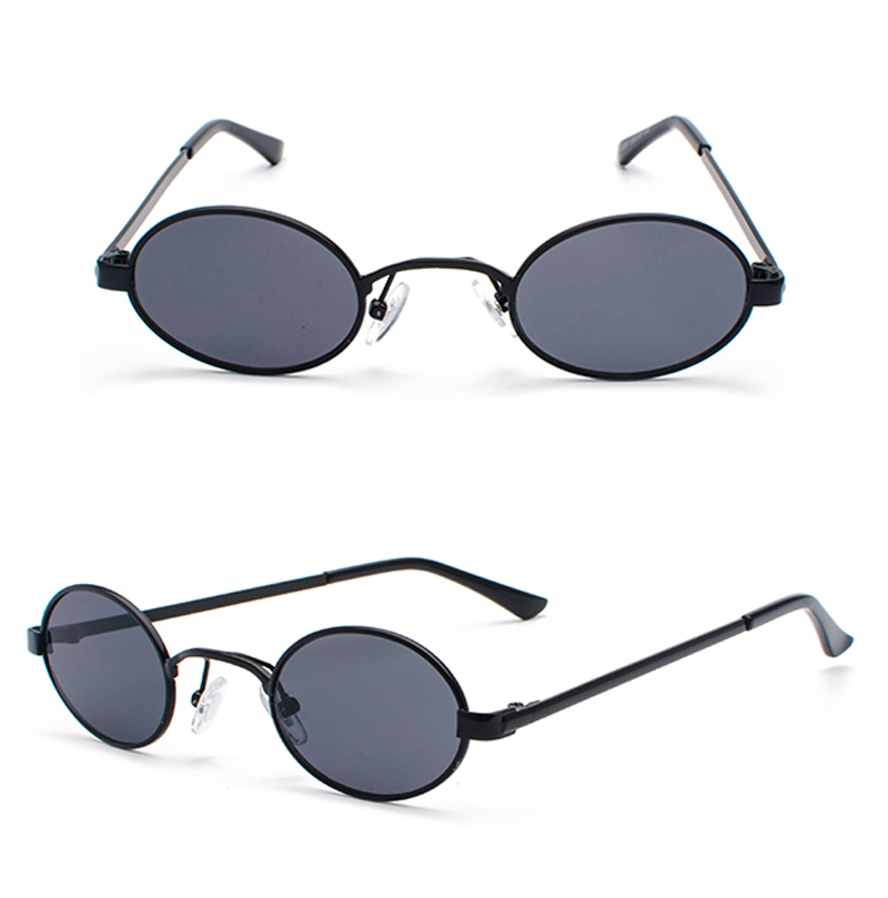 Tiny Oval Sunglasses Men detail (8)