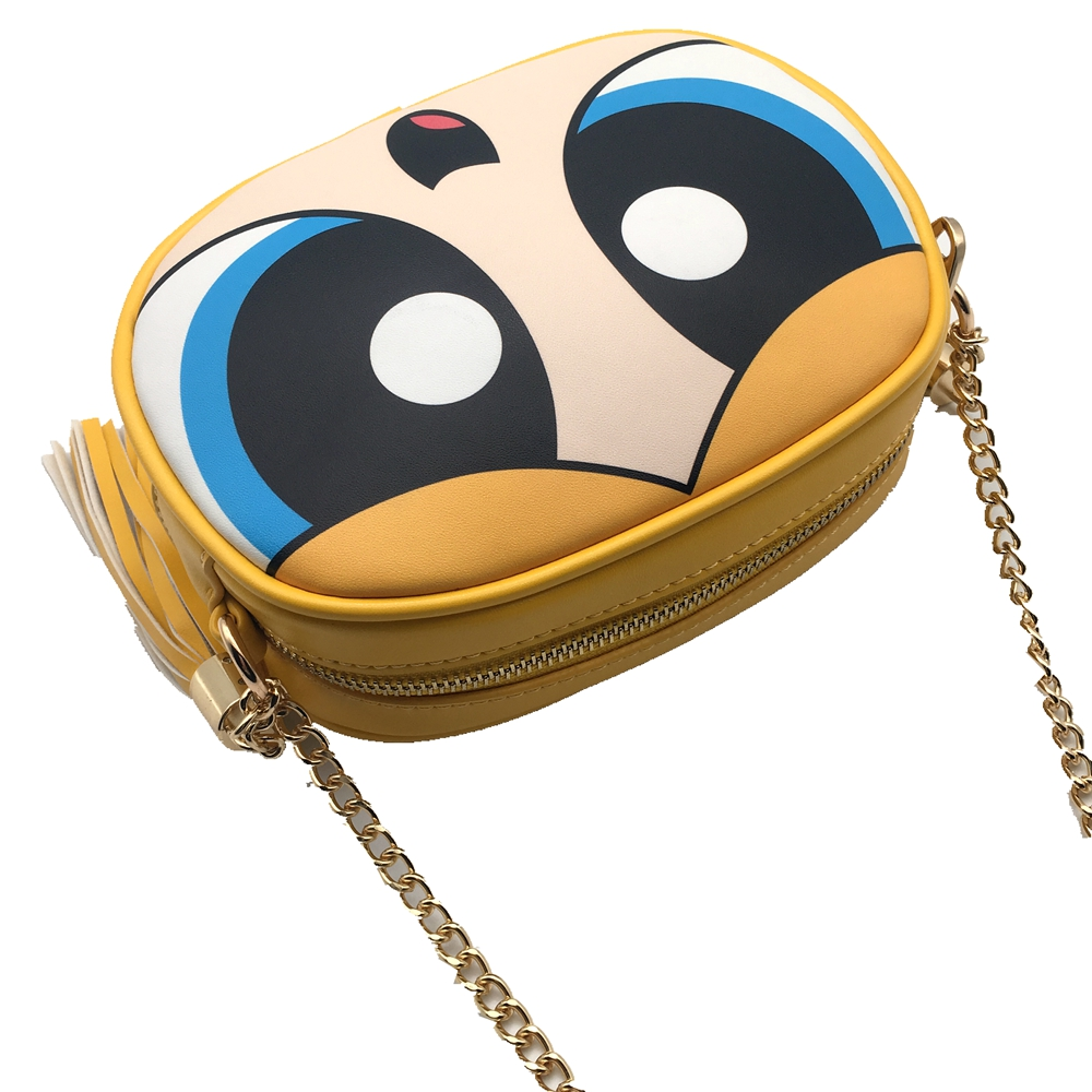 1022a01872 Powerpuff Girls cute fashion design and good quality chain shoulder bag  messenger bag flap ladies handbag clutch purse 3 colors-in Shoulder Bags  from ...