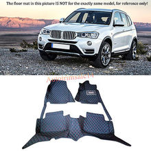 Interior Floor Mats & Carpets Foot Pads Protector For BMW X3 F25 2011-2014