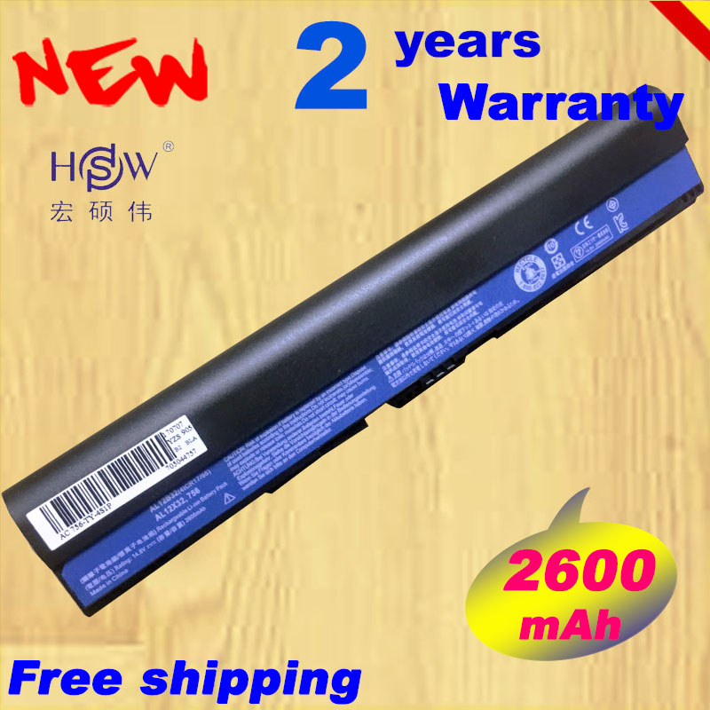 14.8v 4CELL AL12B32 AL12X32 AL12A31 AL12B31 Battery for Acer Aspire One 756 V5-171 725 FOR TravelMate B113 B113M B113-M C7 C710 archos 70 platinum