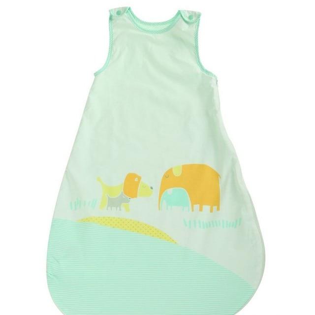 Baby Sleeping Bag New Cute Animal Printing Vest Anti-kick Bag LD1124047