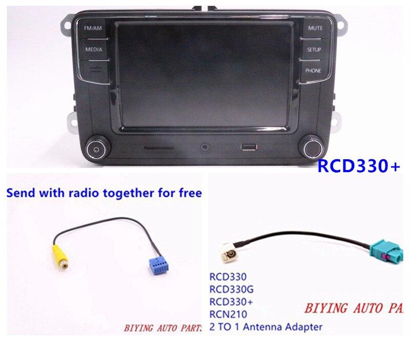 """RCD330 RCD330G Plus RCD510 RCN210 Car 6.5"""" MIB UI Radio For Golf 5 6 Jetta CC Tiguan Passat"""