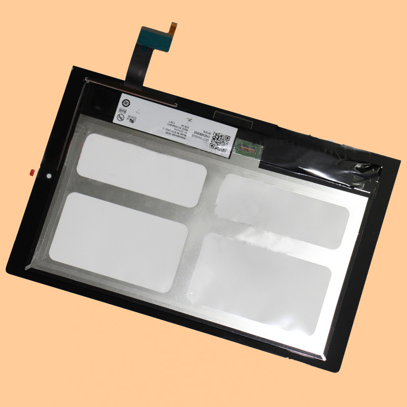 For Lenovo Yoga 2 1050 1050F 1050L 1050LC Black Touch Screen Digitizer Glass + LCD Display Panel Assembly 10 1 lcd touch tablet screen digitizer glass display assembly replacement pocketbook for lenovo yoga tablet 2 1050 1050l 1050f