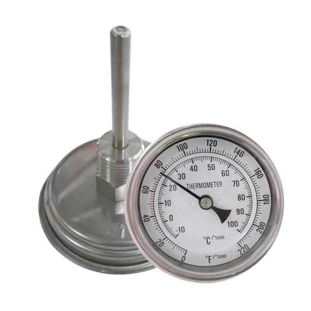 Homebrew Bollitore Birra Birra Termometro Homebrew Birra Bi-Metallo Termometro 3