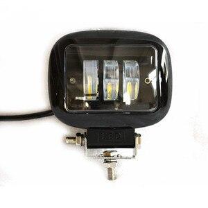 Image 5 - 30W Square Flood LED Work Light Bar Lamp For Car Offroad 4x4 ATV Truck Tractor SUV Vehicle 30w LED Work Light Flood 12 24V