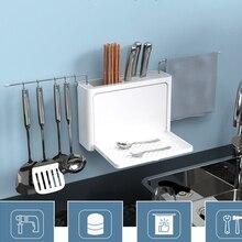 Talheres escorredor com bico de drenagem fácil organizador de armazenamento de cozinha garfo faca titular colher pauzinhos filtro rack faca ferramentas