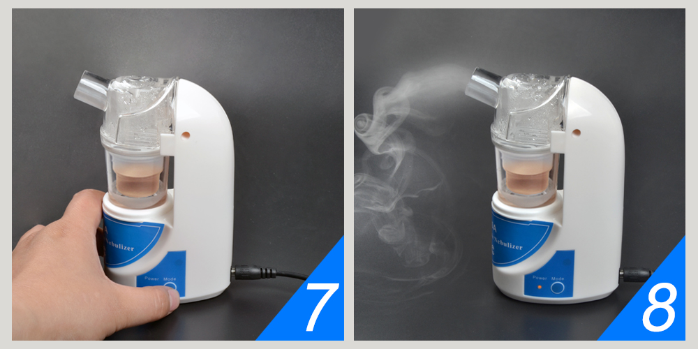 Portable and Silent Ultrasonic Nebulizer