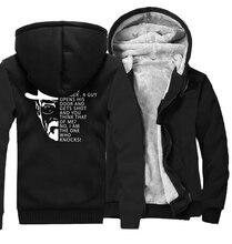 Thick Hoodies Men High Quality  Sweatshirts Breaking Bad Heisenberg