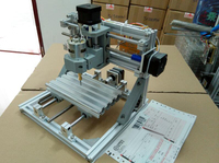3 Axis Arduino CNC Mini DIY Router Engraver PCB PVC Milling machine Wood Carving Machine GRBL