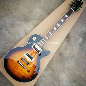 Classic LP electric guitar, new style, good sound, free shipping fake guitar