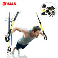 DMAR résistance bandes suspendus ceinture Sport Gym entraînement Fitness exercice tirer corde sangles entraînement Gym