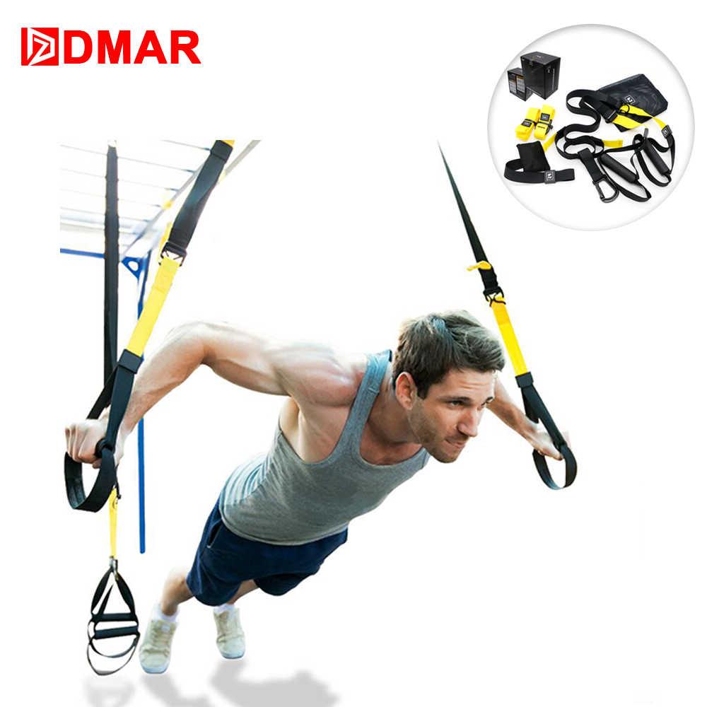 DMAR zespoły oporu wiszące pas Sport siłownia trening Fitness ćwiczenia ciągnąć liny pasy siłownia szkolenia
