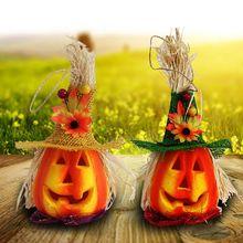 New Pumpkin Night Light Halloween Decoration Lights Home Outdoor Parties Accessories