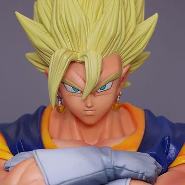 1 PC Original Fusão Kakarotto goku Dragon Ball Z Vegeta Super Saiyan Vegetto Ação Anime Japonês Figura Coleção Modelo RT091